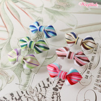 Wooflink Mini Stripe Bow