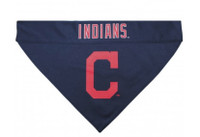 Cleveland Indians Reversible Dog Bandana