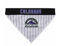 Colorado Rockies Reversible Dog Bandana