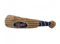Detroit Tigers Plush Dog Bat