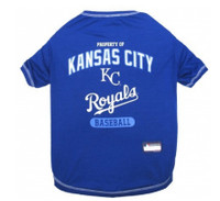 Kansas City Royals Dog T-Shirt