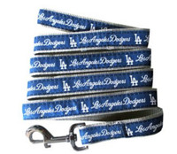 Los Angeles Dodgers Ribbon Dog Leash