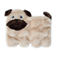 Squeakie Pup  Dog Toy - Pug