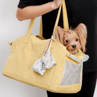 Louisdog The Linen Shoulder Bag