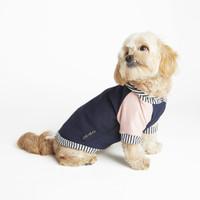 Bamboo Fleece Knit Hoodie - Navy