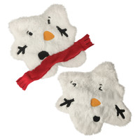 Stuffless Melted Snowman Plush Splat Toy