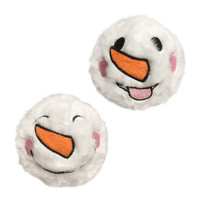 Snowman Fuzzy Ball Spiker Toy