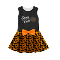 Scary Cute Halloween Dog Harness Dress