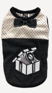 Chewnel Black Bow Tie Watch Tank