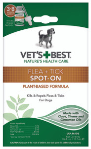Flea and Tick Spot-on Drops Topical Treatment