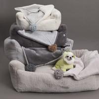 Louisdog Furry Boom n Blanket Bed