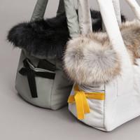 Louisdog Fur n Velvet Viva Bag