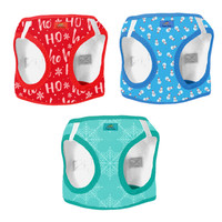 American River Choke Free Dog Harness Christmas Collection