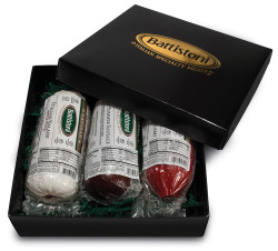 Sweet, Hot, and Hard Salami Lovers Gift Box