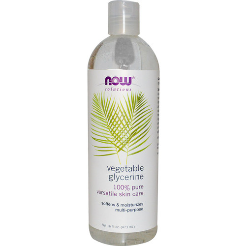 NOW 100% Pure vegetable glycerin online at everyday low prices.