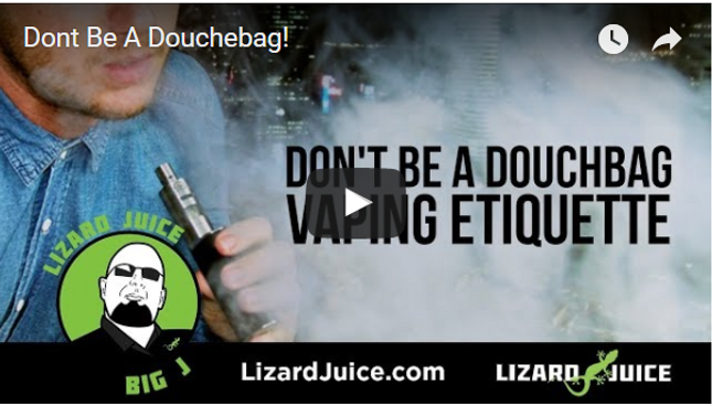 Don't Be A Douchebag! [VIDEO]