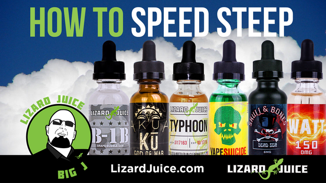 How To Speed Steep Your E-Juice [Big J's VIDEO How To]