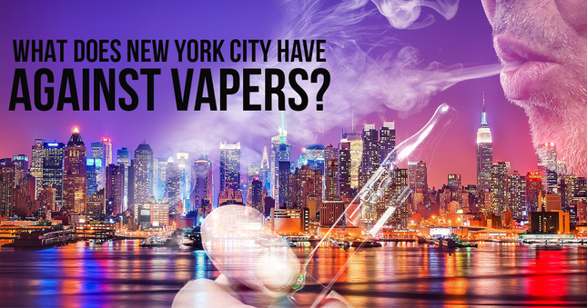 What Does New York City Have Against Vapers?