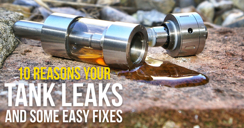 10 Reasons Your Tank Leaks And Some Easy Fixes