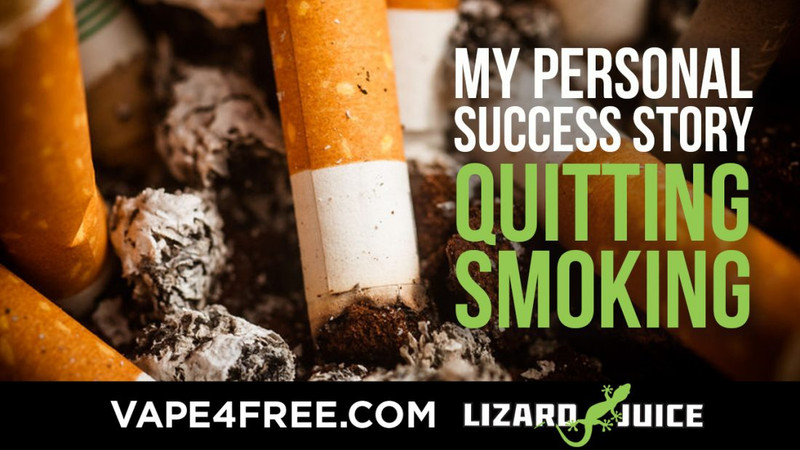 My Personal Success Story Quitting Smoking