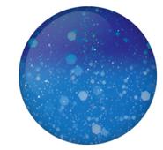 Gel II, Chaotic Cobalt #R175