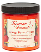 Keyano Manicure & Pedicure, Mango Butter Cream 8 oz.