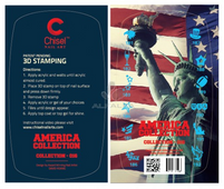 20% off Chisel 3D Stamp - America Collection #016