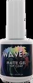 WaveGel  Matte Top Coat S/O Gel .5 oz