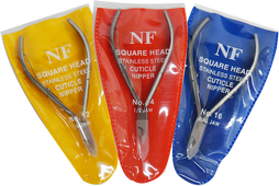 Cuticle Nippers, NF 3 different Sizes