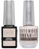 Gel II + Matching Extended Shine Polish, CREAM COUTURE #G241 - #ES241