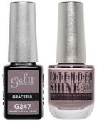 Gel II + Matching Extended Shine Polish, GRACEFUL #G247 - #ES247