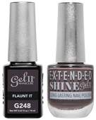 Gel II + Matching Extended Shine Polish, FLAUNT IT #G248 - #ES248