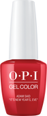"OPI GelColor - Holiday Love  -  Adam said ""It's New Year's, Eve"" - #HPJ09"