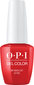OPI GelColor - Holiday Love  -  My Wish List is You - #HPJ10