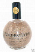 Northern Lights Hologram Top Coat-Gold 4 oz