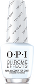 OPI Chrome Powder, #CPT31 - Chrome Effects Nail Lacquer Top Coat 0.5oz