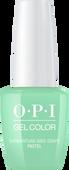 OPI GelColor - #GC103A - PASTEL GARGANTUAN GREEN GARPE .5oz