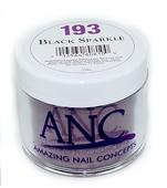 ANC Powder 2 oz, BLACK SPARKLE #193