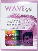 WaveGel Matching S/O Gel & Nail Lacquer - WANDERLUST .5oz W185