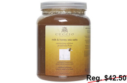 Cuccio Milk & Honey Sea Salts 78 oz