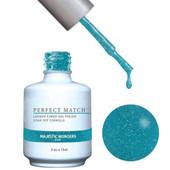 PERFECT MATCH - Gel Polish + Lacquer, MAJESTIC WONDERS PMS121