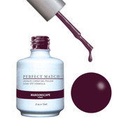 PERFECT MATCH - Gel Polish + Lacquer, Maroonscape PMS132