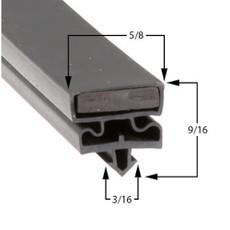 Styleline 5595BCG1 Gasket 29 1/2 x 65 1/2