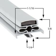 Utility Gasket 6 11/16 x 30 7/8