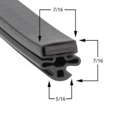 Nor-Lake Gasket 22 3/4 x 56