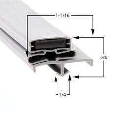 Vulcan-Hart Gasket  20 3/4 x 65 3/4