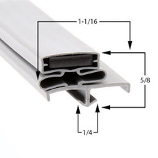 Vulcan-Hart Gasket  25 1/4 x 58 3/4
