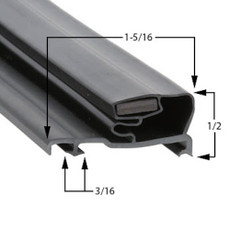 Schott Gemtron Gasket 3M-0016-183 29 1/4 x 65 11/16