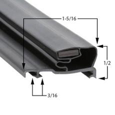 Schott Gemtron Gasket 3M-0016-185 29 7/8 x 61 15/16