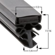 Traulsen Gasket 22 3/4 x 59 3/4 - Profile 504